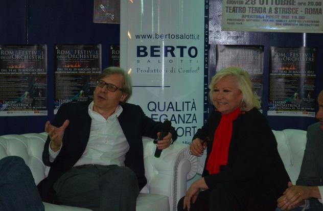 Vittorio Sgarbi al Roma Festival delle Orchestre