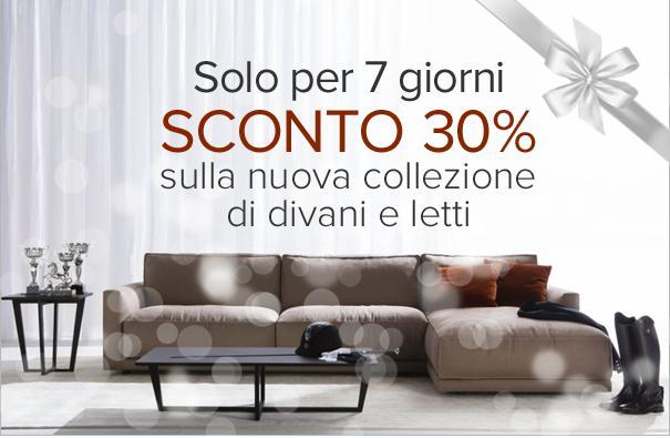 Sconto 30% Berto Salotti