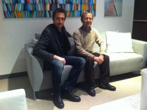 Filippo Berto e Felice Asnaghi
