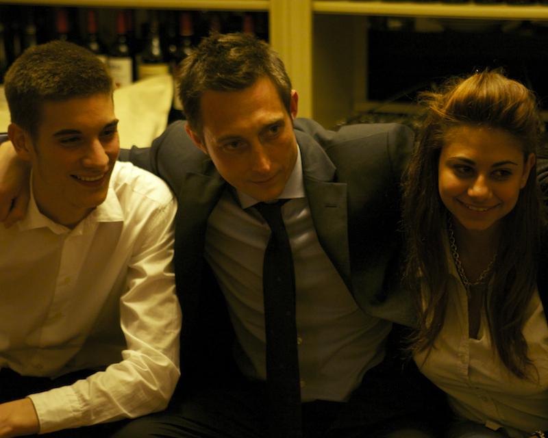 Filippo Berto e amici sul divanoXmanagua