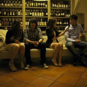 Gli studenti sul divanoXmanagua