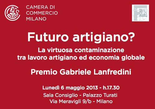 Il premio della Camera di Commercio di Milano a Futuro Artigiano di Micelli