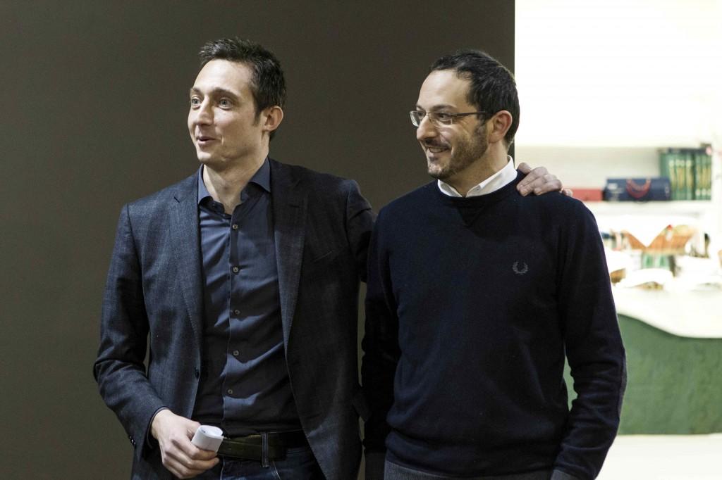 Filippo Berto e Fabio Asnaghi