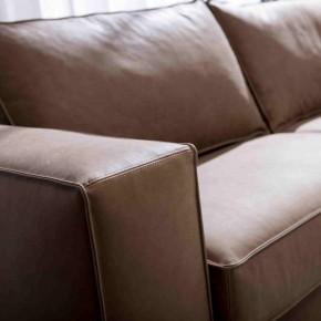 bracciolo divano letto in pelle nemo