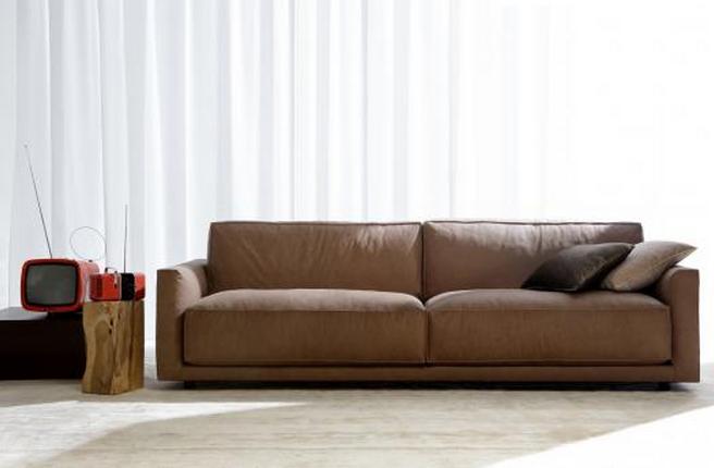 Casa moderna roma italy divano in pelle