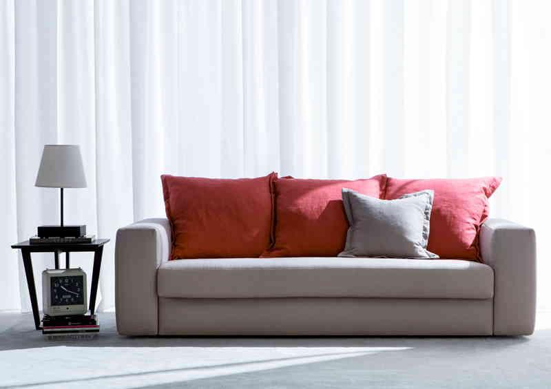 Canapé lit en tissu Passepartout