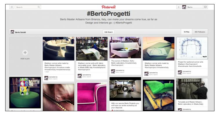 Divani Letti Berto Progetti su Pinterest