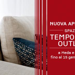 Temporary Outlet Berto Meda Roma Divani e Letti