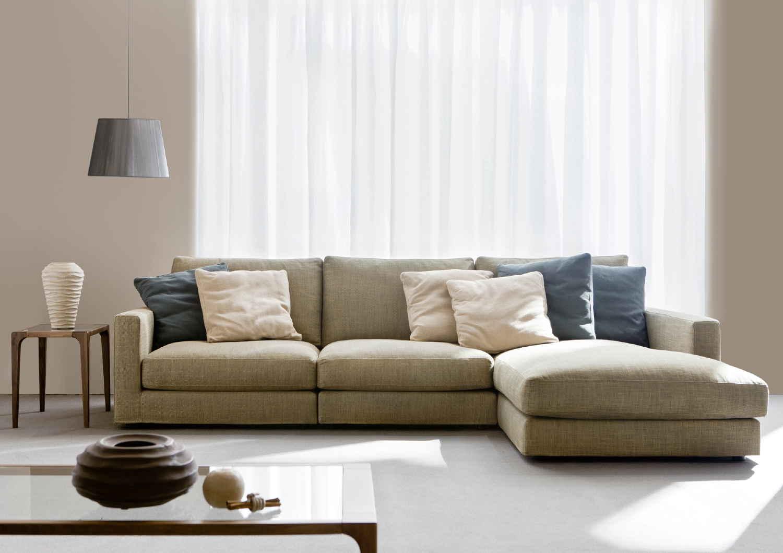 I divani componibili Berto, un gioco ad incastro ...