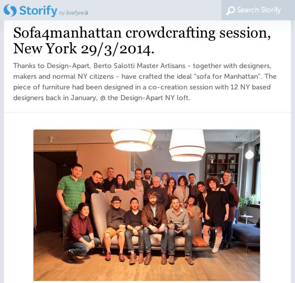 Berto divano Manhattan Design-Apart