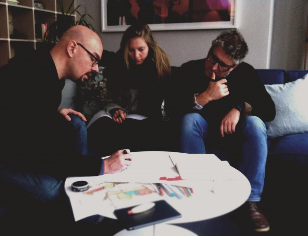 Team designer divano Berto sofa4manhattan