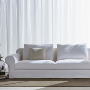Dalla collezione Berto 2014, il divano classico Callas