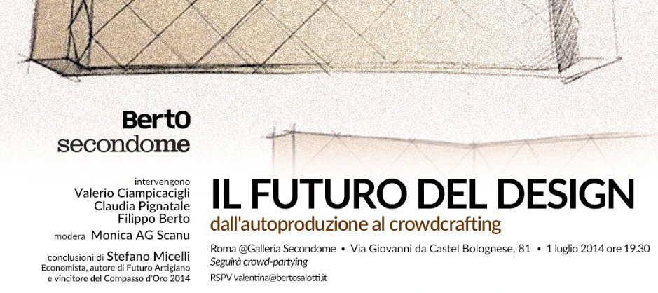 Il futuro del design - Berto SecondoMe