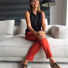 Cristina, interior designer Berto Roma