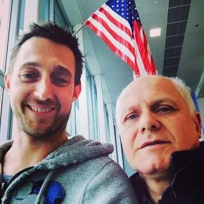 Filippo Berto et Flavio Cairoli à New York pour Sofa4manhattan