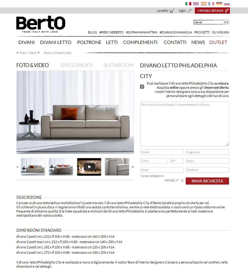 Nuovo layout per il sito bertosalotti.it