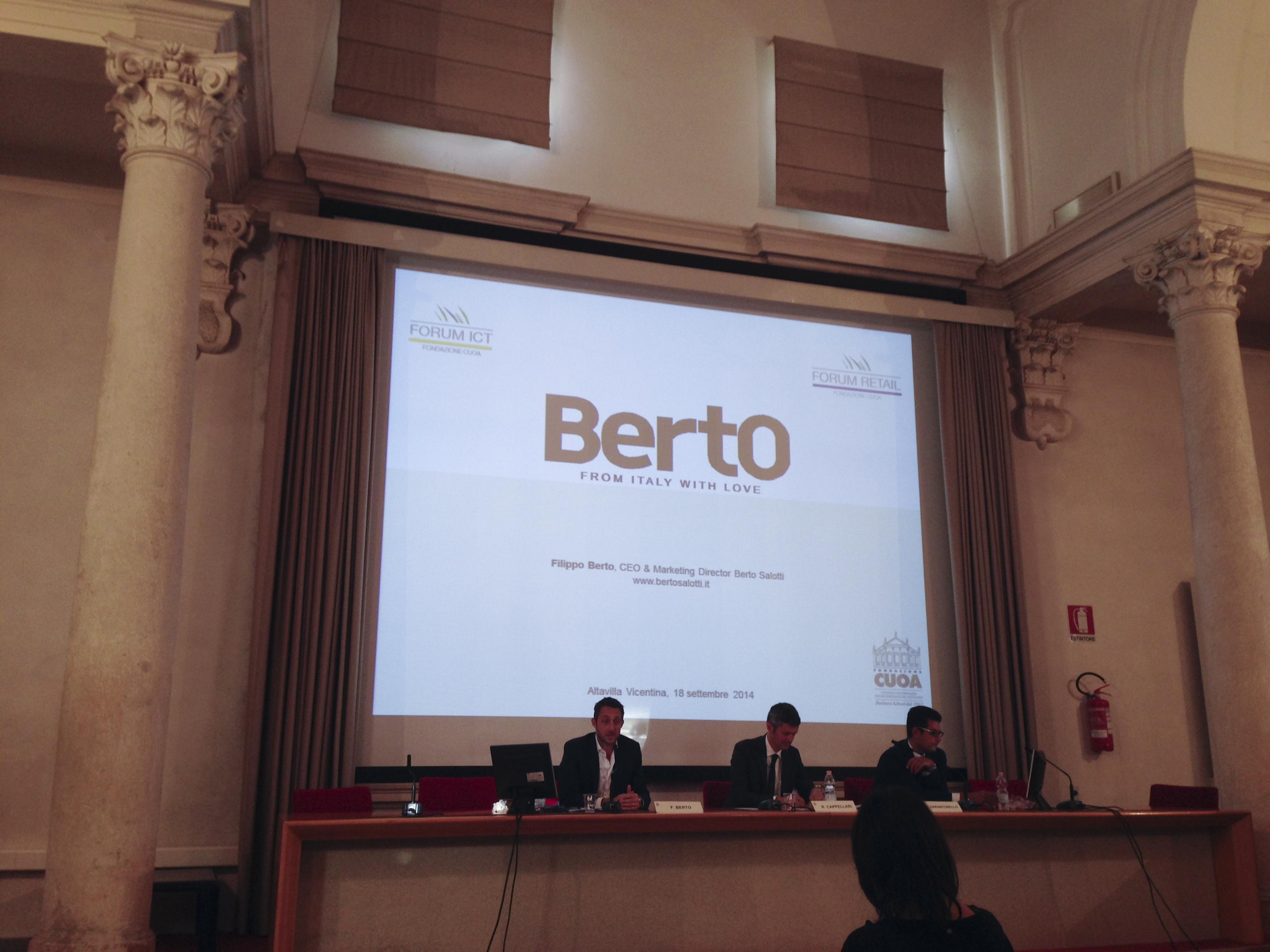 Berto Salotti Forum.Filippo Berto All Annual Meeting Del Forum Ict E Del Forum