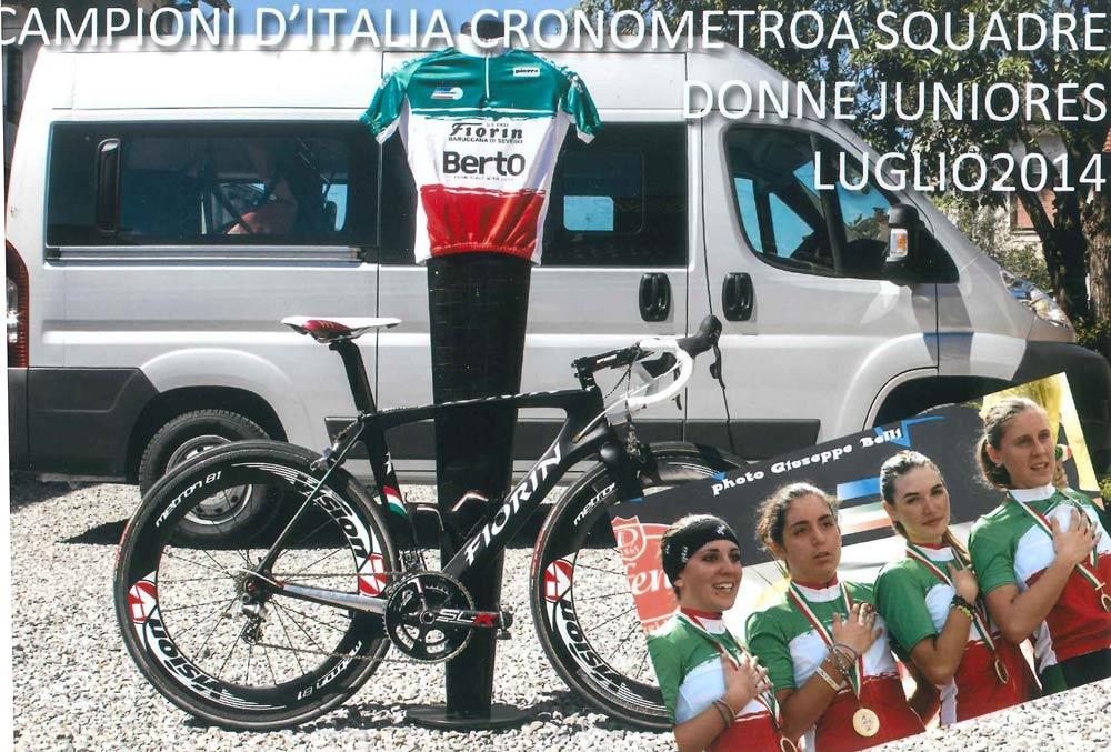 BertO sponsor con GS Fiorin