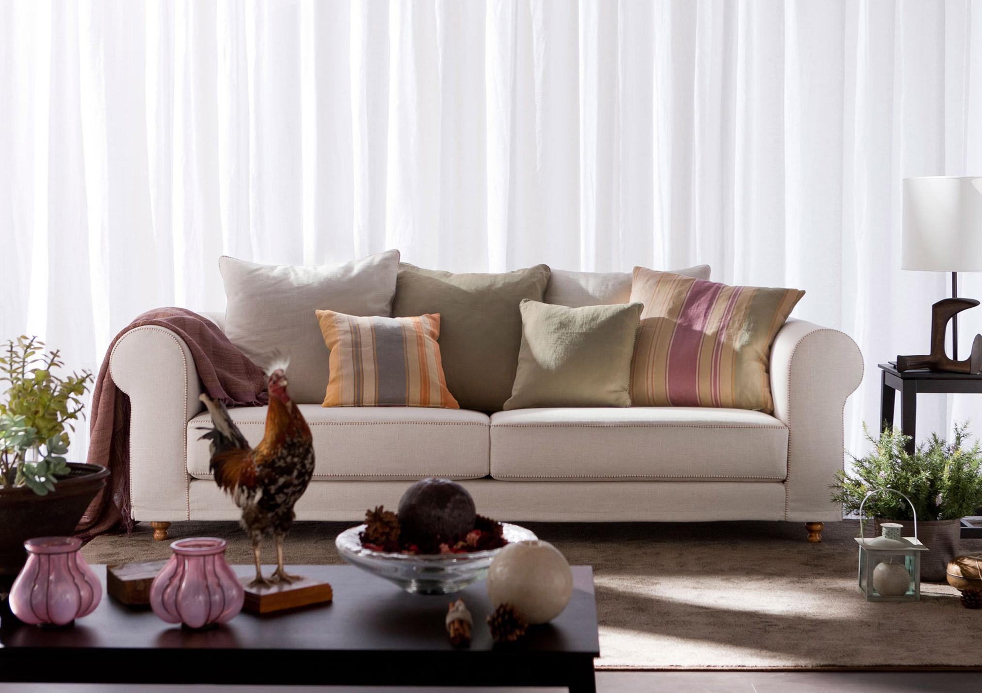 klassische Sofa Cambridge - etro-kissen