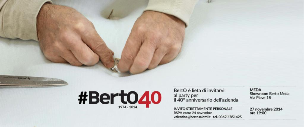 Party #BertO40