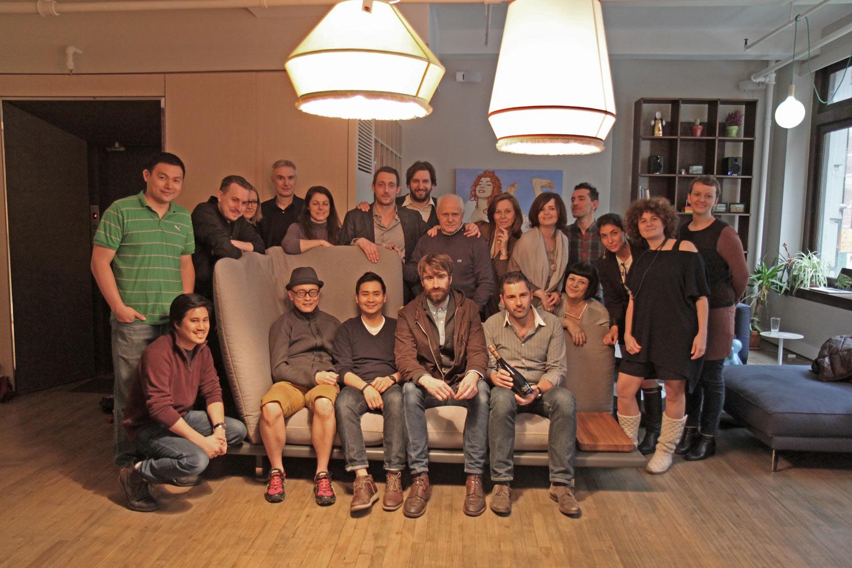 Filippo Berto e Flavio Cairoli a New York per Sofa4manhattan