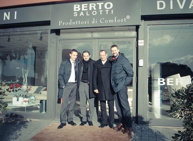 Fabio Asnaghi, Maurizio Riva, Filippo Berto e Michele Gregorio