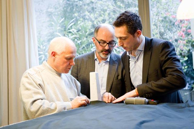 Flavio Cairoli, Stefani Micelli e Filippo Berto con Divanoxmanagua