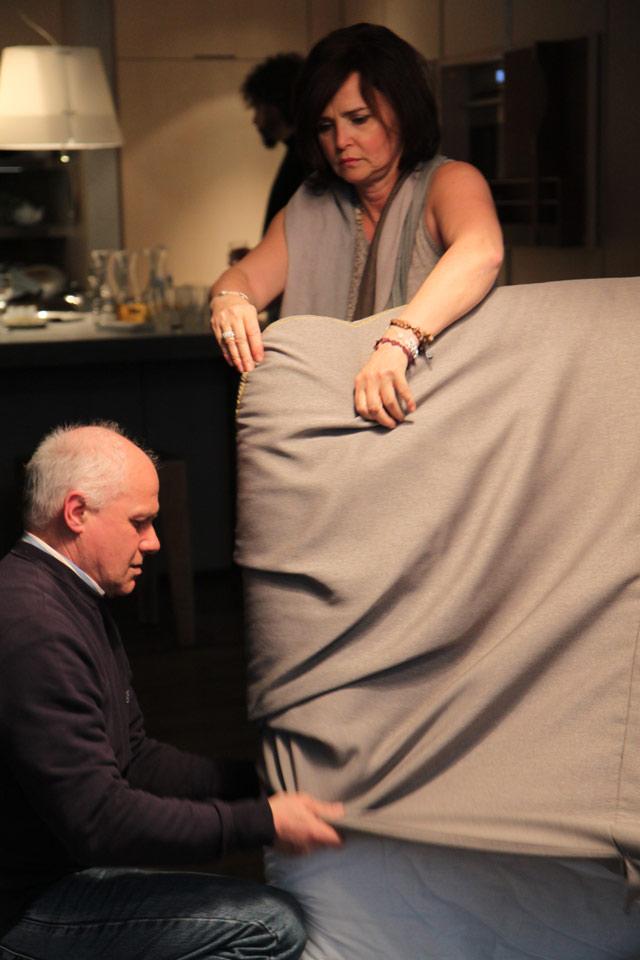 Flavio Cairoli al crowdcrafting sofa4manhattan di NY