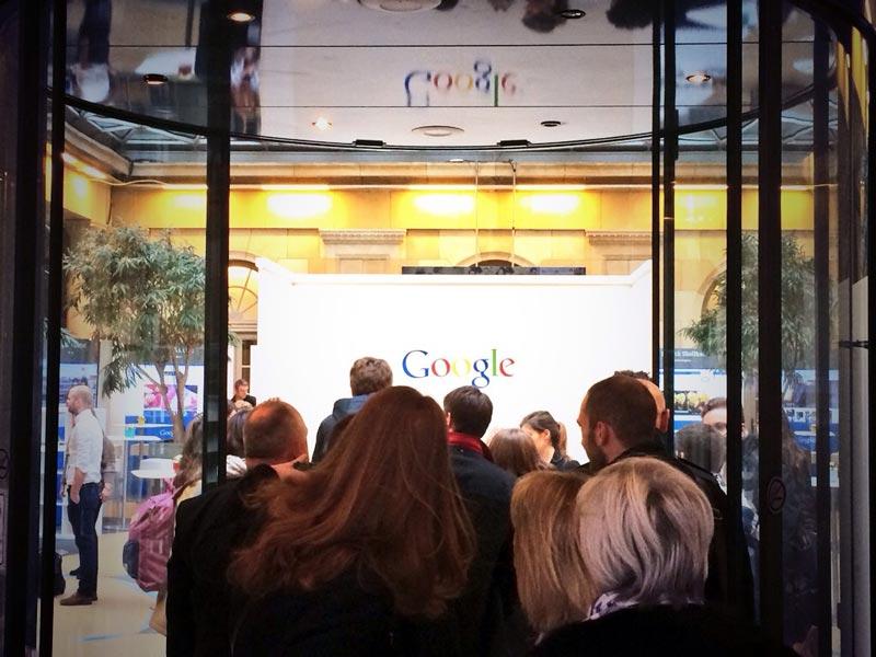 Evento Google a Bruxelles