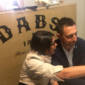 Claudia Pignatale e Filippo Berto al Manhattan Party #DABS