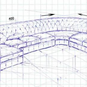 Divano chesterfield angolare su progetto