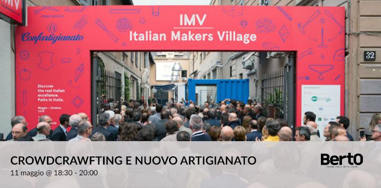 Filippo Berto all'Italian Makers Village