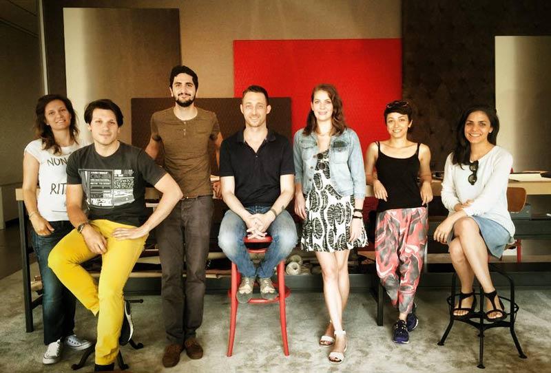 I designer di Casa Flora e Filippo Berto a Meda