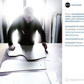 #BertOtailoring: la Tappezzeria Sartoriale BertO è su Instagram