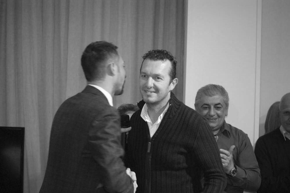 Ronnie Mazzoni e Filippo Berto