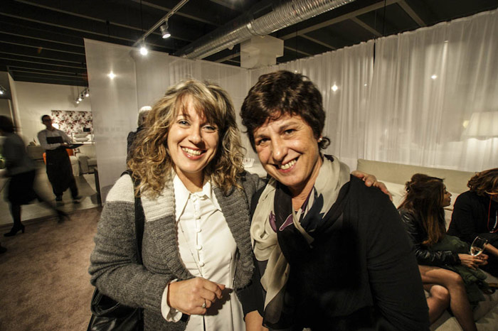 Le cucitrici BertO40: Serafina Gallo e Matelda Bedendi
