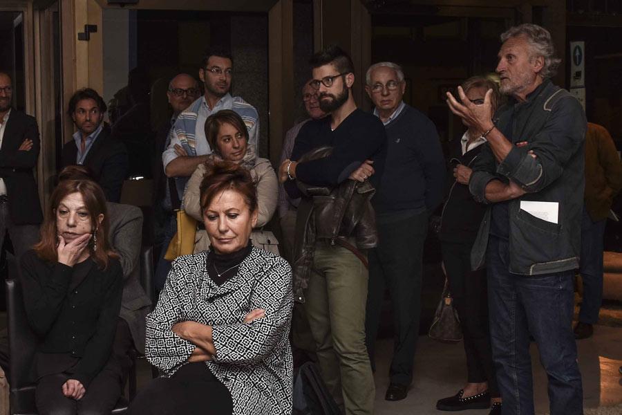 Il sindaco di Meda Caimi alla presentazione del libro di Marco Bettiol