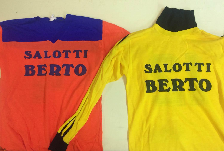 La maglia della squadra di calcio a sette BertO