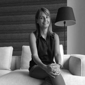 Cristina Silenzi arredatrice negozio BertO a Roma