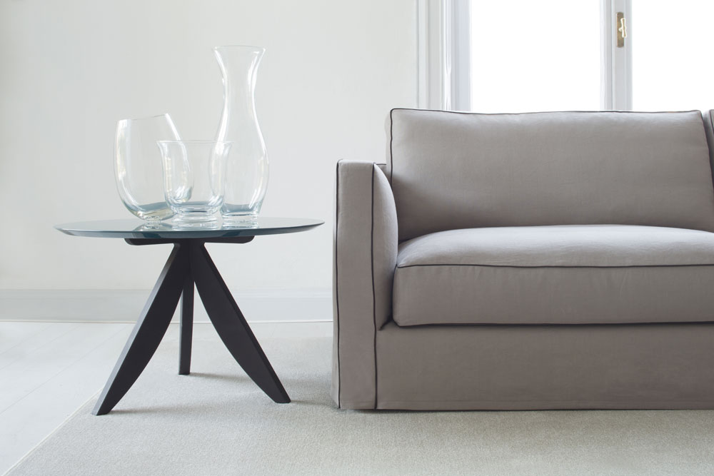 Sofá de lino Danton a medida