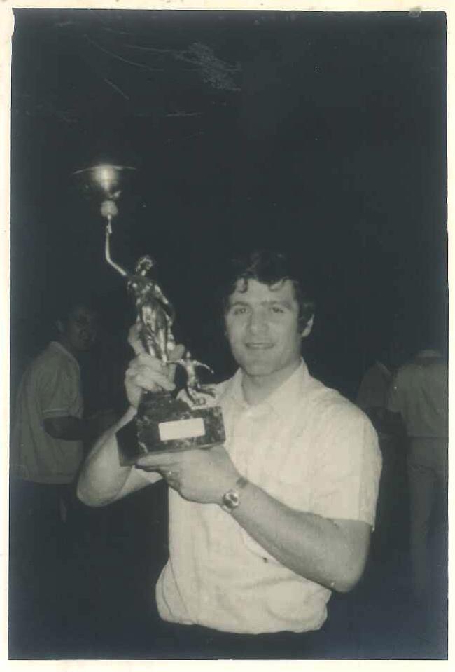 Carlo Berto negli anni '70