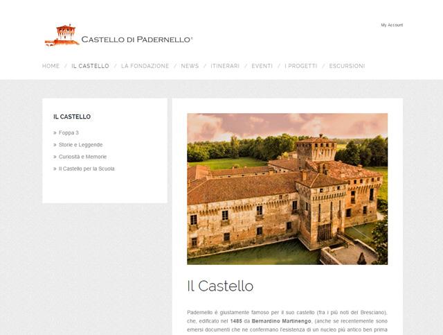 Sito del Castello di Padernello raccontato a Generazioni