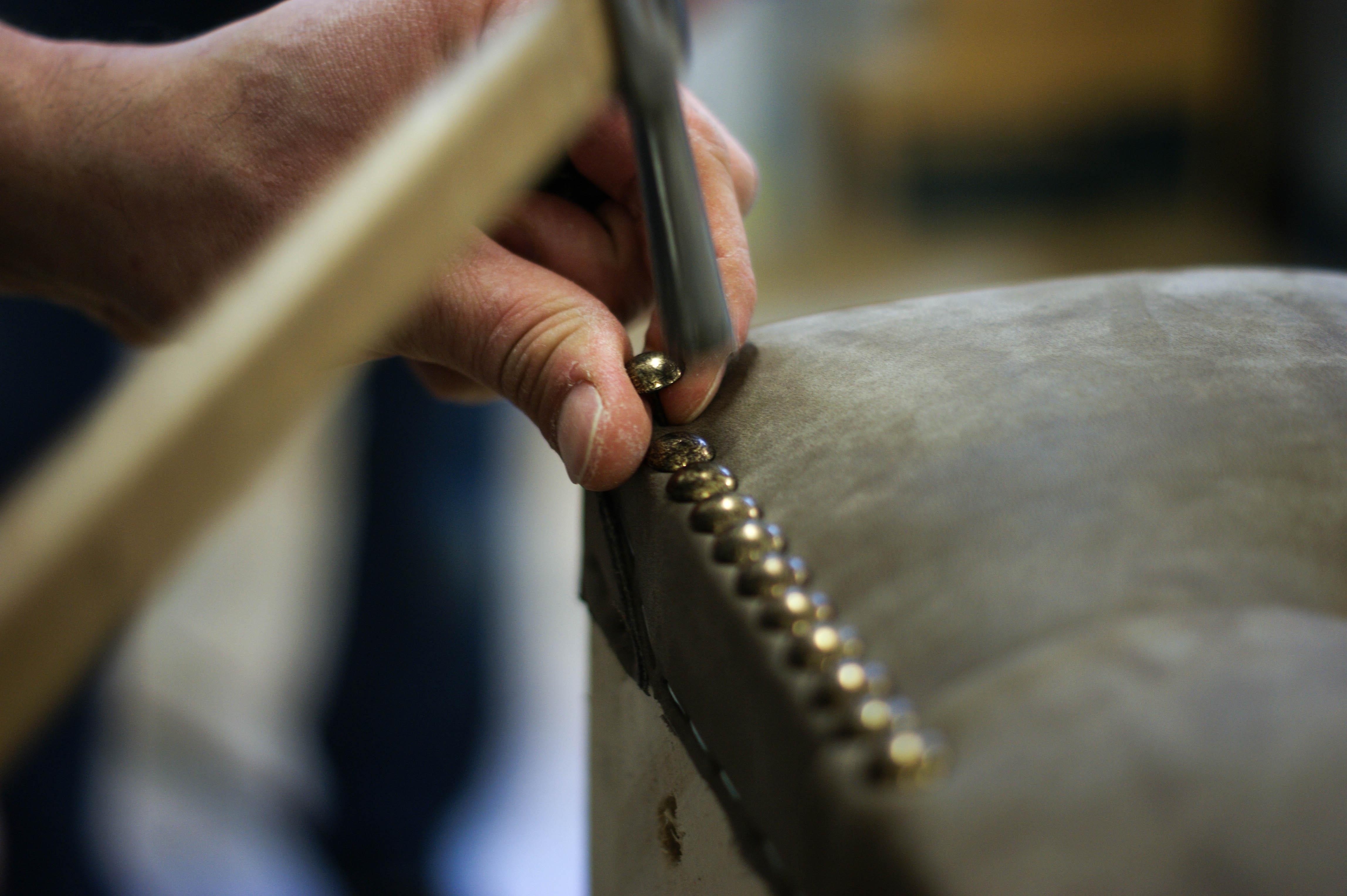 divano chesterfield fatto a mano su misura
