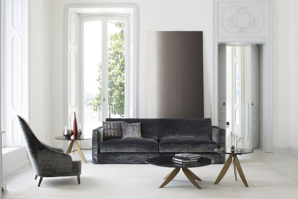 Modernes Sofa Dantonmit Sessel Vanessa