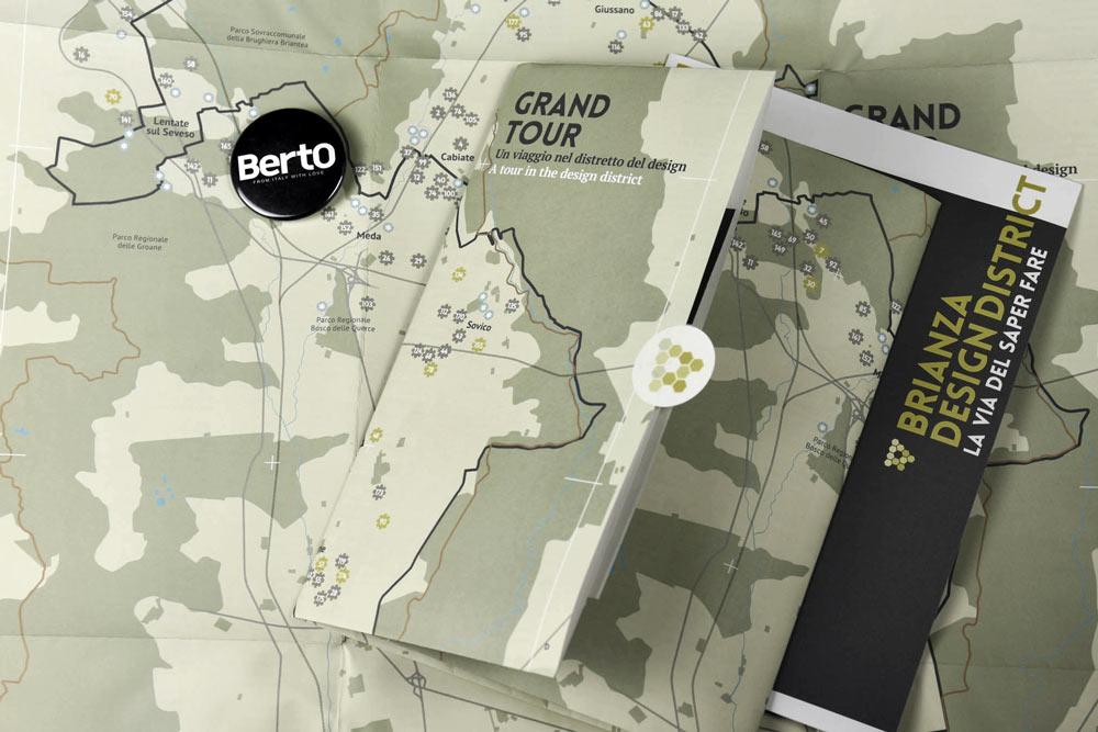 Mappa Brianza design district