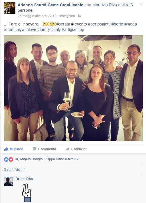 i Berto alla presentazione di Fare è innovare di Stefano Micelli