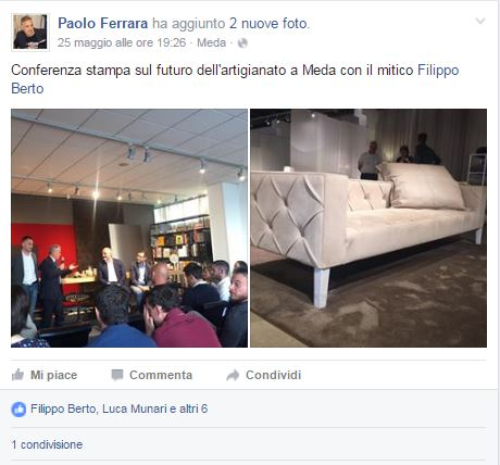 Paolo Ferrara presentazione di Fare è innovare di Stefano Micelli