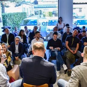 Stefano Micelli alla presentazione Fare è innovare