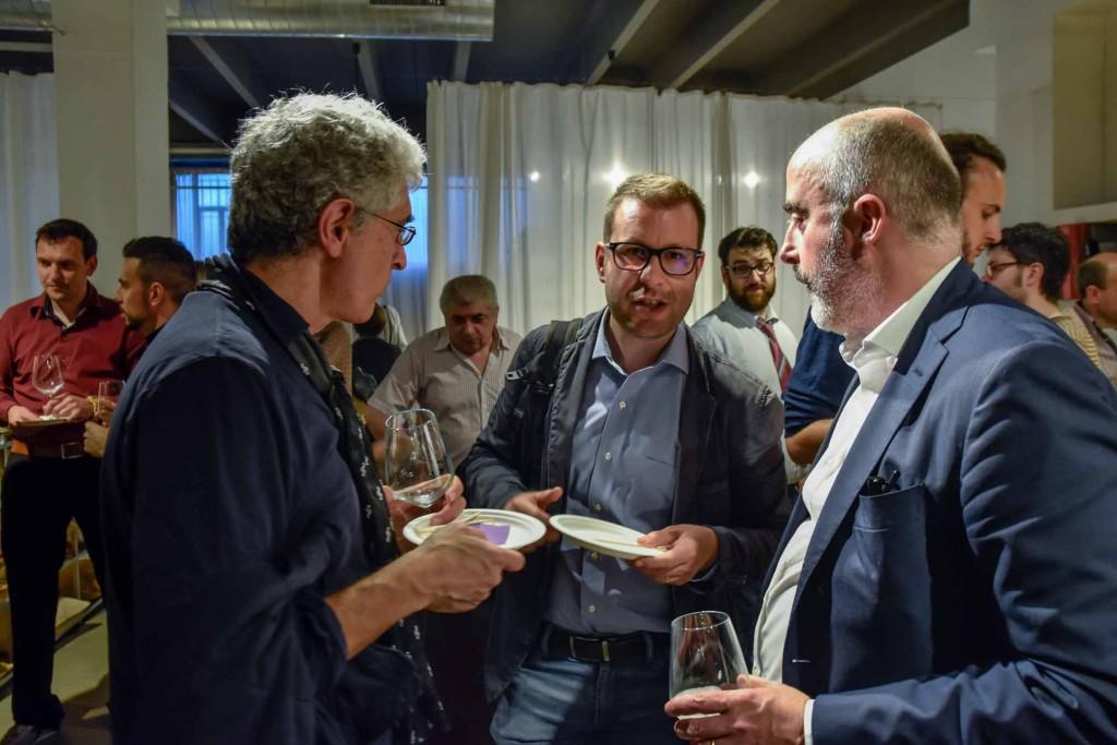 Roberto Bonzio, Francesco Cancellato e Stefano Micelli alla Presentazione Fare è innovare