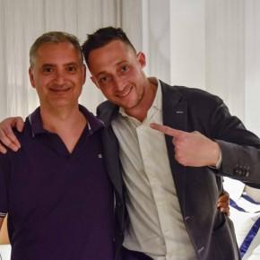 Paolo Ferrara e Filippo Berto alla presentazione di Fare è innovare